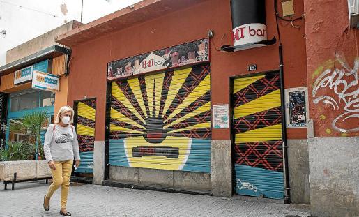 Fachada del bar Hat, en Palma.
