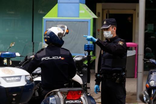 El arresto fue practicado por agentes de la Policía Nacional.