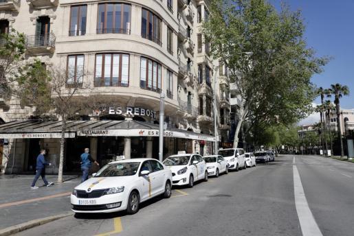 Distintas asociaciones de taxistas aseguran que el límite de velocidad a 80 kilómetros por hora en la vía cintura de Palma provocará «más atascos».