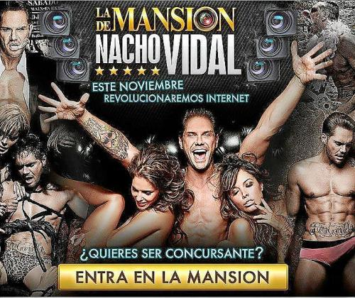 Imagen de la campaña promocional del programa de Nacho Vidal.