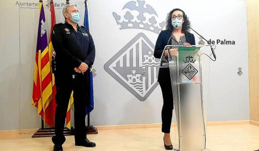 José Luis Carque y Joana María Adrover denunciaron la filtración y el extravío del acta que nunca desapareció.