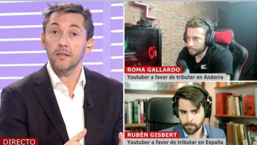 El 'youtuber' Roma Gallardo ataca a Mediaset y a Javier Ruiz
