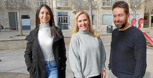 Kristina Kancheva, Leti Lope y Leo Serrat.