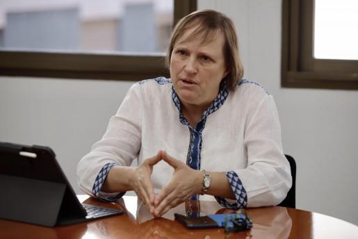 La directora d'Assistència Sanitaria del Servei de Salut, Eugenia Carandell.