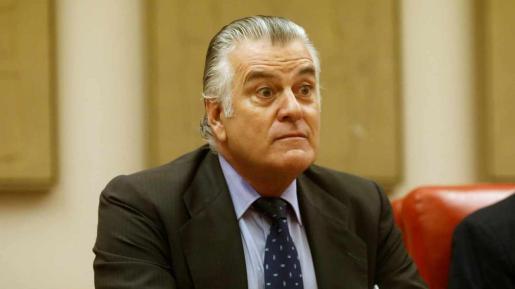 El extesorero del PP Luis Bárcenas,
