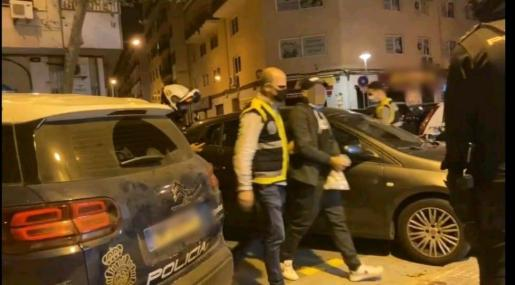El 'Nano', principal acusado de la agresión a policías en Son Banya.