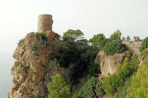 Imagen de la Torre des Verger, en el término municipal de Banyalbufar.