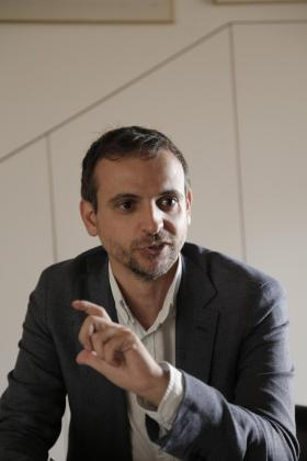 El concejal de Educación y Política Lingüística, Llorenç Carrió.