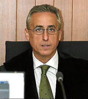 Gómez-Reino, presidente de la Audiencia Provincial .