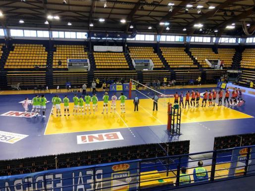 El partido se ha disputado en Las Palmas de Gran Canaria, en el Centro Insular de Deportes.
