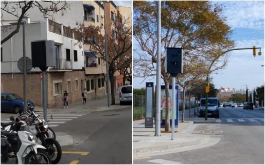 Nuevos radares instalados en Palma.