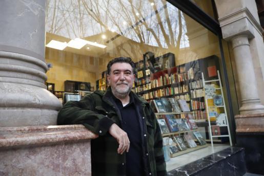 El Sr. García en CaixaForum Palma.