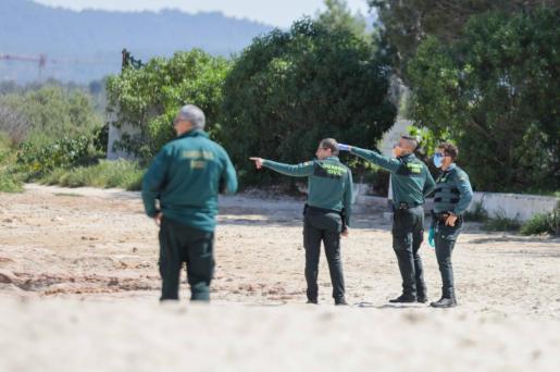 La Guardia Civil ha detenido a los tres acusados alemanes de Peguera.