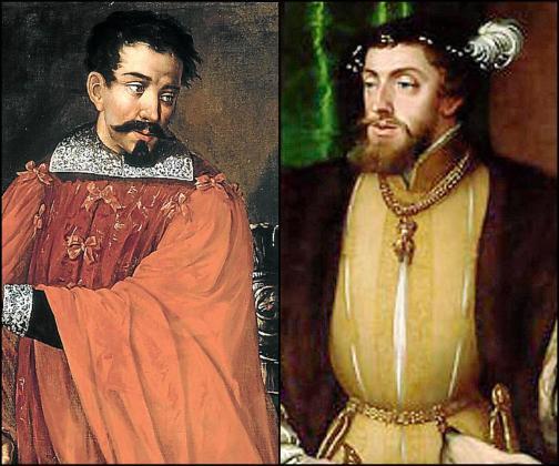 Enfrentados. El bonetero Joanot Colom, nombrado Hijo Adoptivo de Palma, dirigió la Germania después de que se eliminara al anterior líder, Joan Crespí. A la derecha, el emperador Carlos V, que no desoyó las peticiones de los 'agermanats' y sofocó la sublevación.
