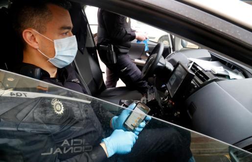 El arresto fue practicado por agentes de la Policía Nacional de Alicante.