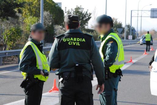 La Guardia Civil dio el alto al hombre en Muro en el año 2007.