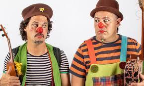 Payasadas en el Espai Teatrix con Flop y Totó.