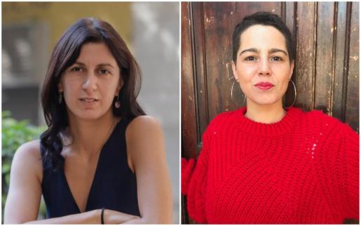 La escritora Lucia Pietrelli y la traductora y música Laia Malo.
