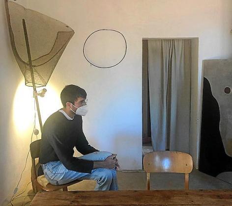 Jaume Roig durante la conversación.