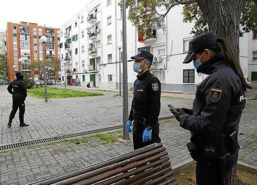El arresto fue practicado por agentes de la Policía Nacional en Son Gotleu.