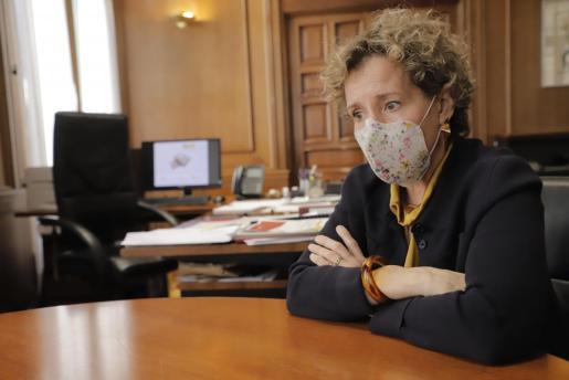 La delegada del Gobierno, Aina Calvo.