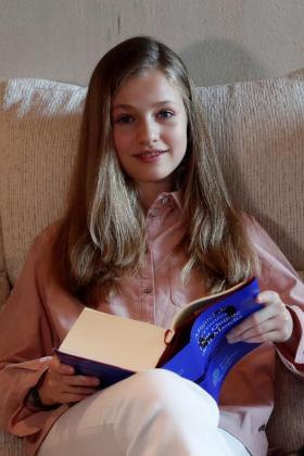 La princesa Leonor, en una imagen de archivo.