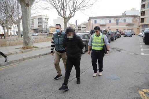 El detenido, este miércoles al pasar a disposición judicial.