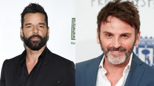 Ricky Martin y Fernando Tejero