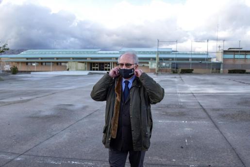 Imagen de la salida de Rato de la cárcel cuando obtuvo el tercer grado.