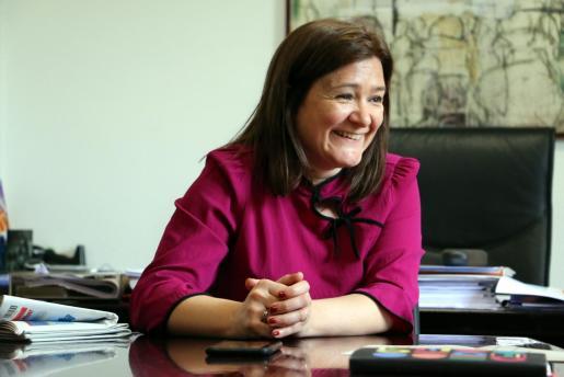 Imagen de archivo de Mercedes Garrido durante su etapa de consellera de Territori i Infraestructures del Consell Insular de Mallorca.