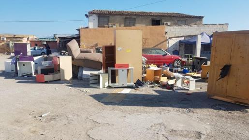 Imagen del poblado de Son Banya.