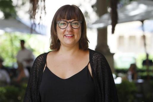 La vicepresidenta del Consell y consellera insular de Cultura, Patrimonio y Política Lingüística, Bel Busquets.