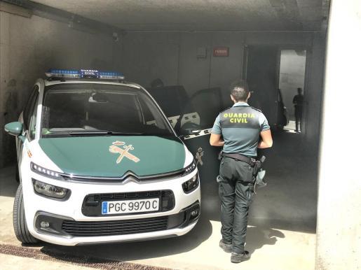 La Guardia Civil arrestó al hombre.