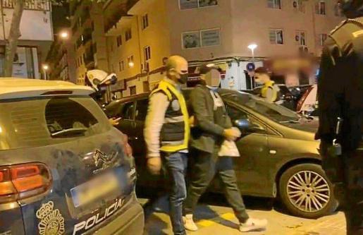 Agentes del Grupo de Homicidios detuvieron a los diez acusados de la agresión.