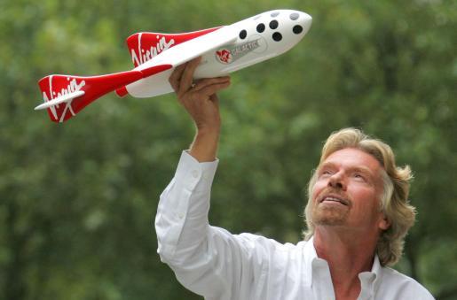 El multimillonario Richar Branson.