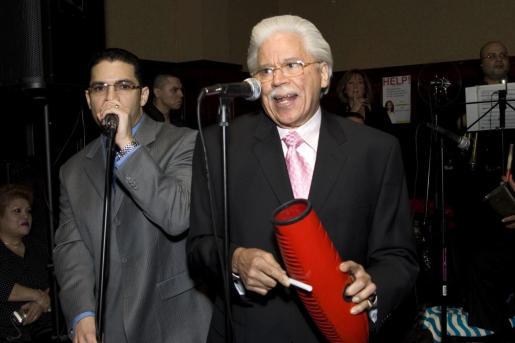 Fotografía de archivo fechada el 27 de marzo de 2008 que muestra al músico y director de orquesta dominicano Johnny Pacheco.