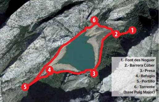 El espejo del Puig Major: vuelta al embalse de Cúber
