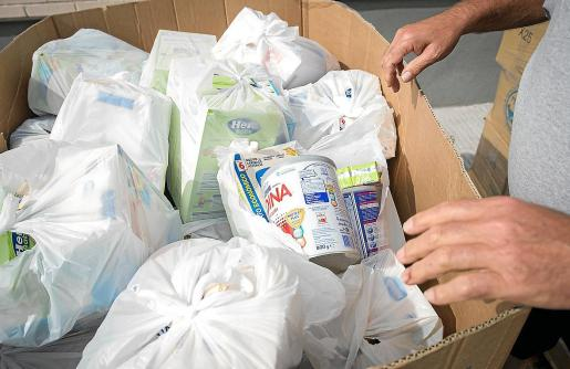 El Ajuntament d'Alcúdia ha aumentado las cantidades de alimentos y ampliado la gama de productos.