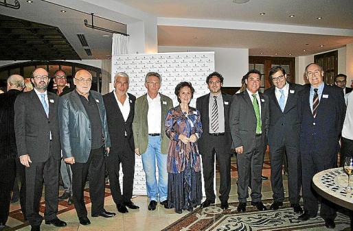 Mundo Fortuny, Peter Glein, Pino Persico, Pep Toni Guardiola, Juana María Román, Víctor Hernández, Esteban Revert, Guillermo Dezcallar y Esteban Bardolet.