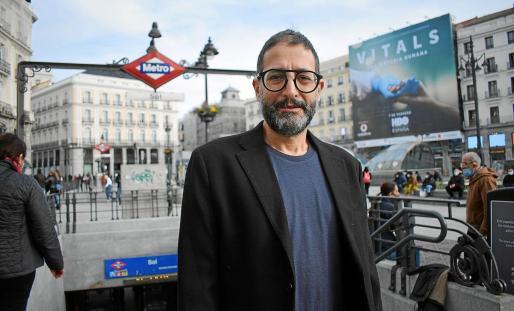 El cineasta y director teatral José Martret posó en Madrid hace unos días para este periódico.