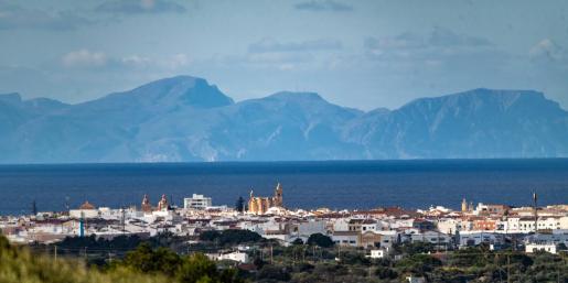 En la imagen se puede ver de forma clara el Puig de Sa Tudossa de la Península de Llevant, en Artà.