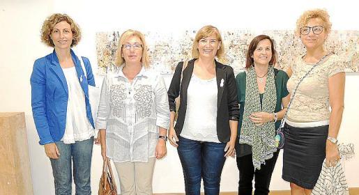 Rosa Maria Tarragó, Maria Payeras, Cati Coll, Marga Beltran y Marga Villalonga.