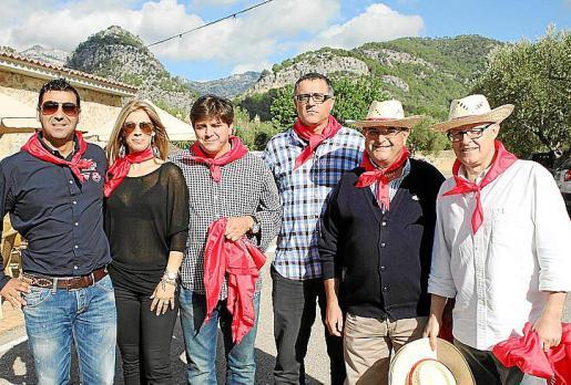 Miquel Vives, Charo Cabezas, José Carlos Antúnez, Ignasi Picanyol, Andreu Roig y Enric Martorell.