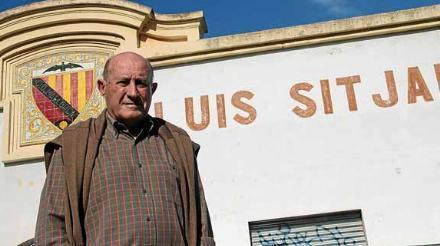 Ángel Bolao posa en frente de Llúis Sitjar en una imagen de archivo.