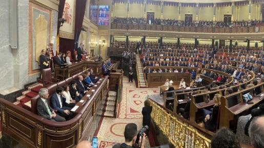 El Congreso de los Diputados, antes de la pandemia.