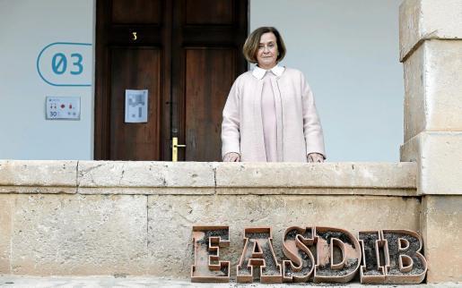 María Abando acaba de finalizar su etapa como directora de la EASDIB.