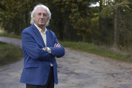 Miguel Ángel Moreno, hace unos días, en Burgos. Estuvo en el 'Baleares' entre 1975 y 1984.