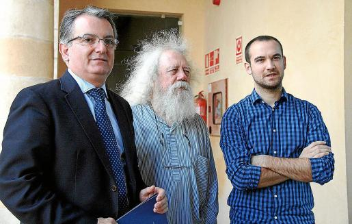 Joan Rotger, Antoni Caimari y José Pablo Pol.