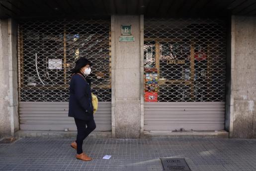 La restauración está cerrada debido a las restricciones para frenar la pandemia.