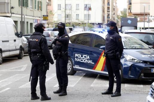 El arresto fue practicado el domingo por agentes de la Policía Nacional.